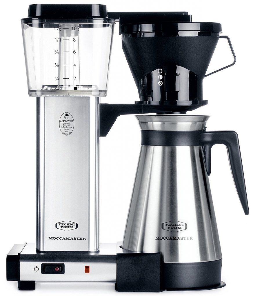 Moccamaster kbt coffee maker