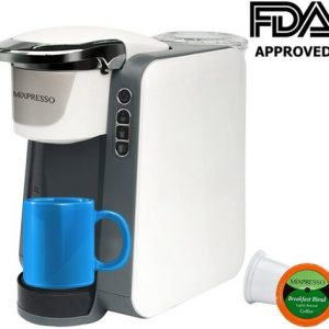 Mixpresso 1200 Watts Automatic Single Serve Programmable Coffee Maker
