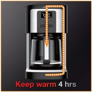 KRUPS 14-Cup Programmable Coffee Maker